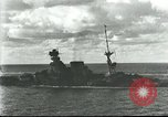 Image of HMS Barham Mediterranean Sea, 1941, second 10 stock footage video 65675065533