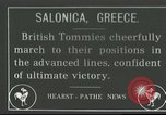 Image of British soldiers Salonica Greece, 1916, second 1 stock footage video 65675065540