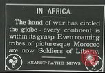 Image of Moroccan troops Africa, 1916, second 1 stock footage video 65675065543