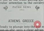 Image of Greek soldiers Athens Greece, 1915, second 1 stock footage video 65675065545