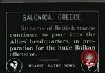 Image of British troops Europe, 1916, second 1 stock footage video 65675065551