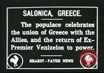 Image of Greek officers Salonica Greece, 1916, second 1 stock footage video 65675065553