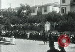 Image of Greek officers Salonica Greece, 1916, second 3 stock footage video 65675065553