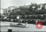 Image of Greek officers Salonica Greece, 1916, second 6 stock footage video 65675065553