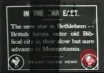 Image of British troops Bethlehem Palestine, 1916, second 1 stock footage video 65675065555