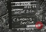 Image of Japanese-American soldiers Charmois France, 1944, second 2 stock footage video 65675065573
