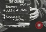 Image of Japanese-American soldiers France, 1944, second 3 stock footage video 65675065579