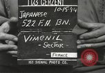 Image of Japanese-American soldiers France, 1944, second 7 stock footage video 65675065579