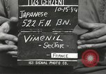 Image of Japanese-American soldiers France, 1944, second 8 stock footage video 65675065579