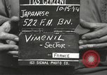 Image of Japanese-American soldiers France, 1944, second 9 stock footage video 65675065579