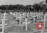 Image of 9th Division memorial service Sainte Mere Eglise France, 1944, second 10 stock footage video 65675065583