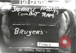 Image of Japanese-American infantrymen Bruyeres France, 1944, second 1 stock footage video 65675065585