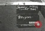 Image of Japanese-American infantrymen Bruyeres France, 1944, second 1 stock footage video 65675065587