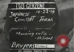 Image of Japanese-American 442nd Regimental Combat Team Bruyeres France, 1944, second 3 stock footage video 65675065589
