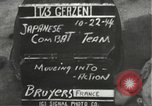 Image of Japanese-American 442nd Regimental Combat Team Bruyeres France, 1944, second 4 stock footage video 65675065589
