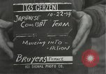Image of Japanese-American 442nd Regimental Combat Team Bruyeres France, 1944, second 2 stock footage video 65675065590