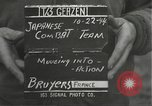 Image of Japanese-American 442nd Regimental Combat Team Bruyeres France, 1944, second 3 stock footage video 65675065590
