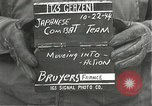 Image of Japanese-American 442nd Regimental Combat Team Bruyeres France, 1944, second 1 stock footage video 65675065591