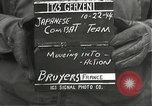 Image of Japanese-American 442nd Regimental Combat Team Bruyeres France, 1944, second 3 stock footage video 65675065591