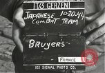 Image of Japanese-American soldiers moving into combat positions Bruyeres France, 1944, second 4 stock footage video 65675065592