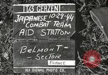 Image of Japanese-American 442nd Regimental Combat Team Belmont France, 1944, second 3 stock footage video 65675065593