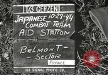 Image of Japanese-American 442nd Regimental Combat Team Belmont France, 1944, second 4 stock footage video 65675065593
