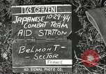 Image of Japanese-American 442nd Regimental Combat Team Belmont France, 1944, second 5 stock footage video 65675065593