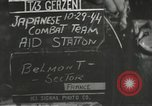 Image of Japanese-American 442nd Regimental Combat Team Belmont France, 1944, second 2 stock footage video 65675065594