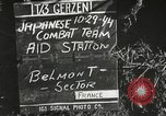 Image of Wounded of the 442nd Regimental Combat Team being treated Belmont France, 1944, second 2 stock footage video 65675065595
