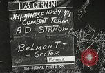 Image of Wounded of the 442nd Regimental Combat Team being treated Belmont France, 1944, second 3 stock footage video 65675065595