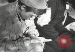 Image of Wounded of the 442nd Regimental Combat Team being treated Belmont France, 1944, second 10 stock footage video 65675065595