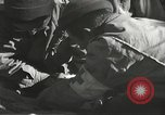 Image of Wounded of the 442nd Regimental Combat Team being treated Belmont France, 1944, second 11 stock footage video 65675065595