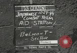 Image of Forward Aid station of 442nd Regimental Combat Team Belmont France, 1944, second 1 stock footage video 65675065597