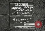 Image of Forward Aid station of 442nd Regimental Combat Team Belmont France, 1944, second 2 stock footage video 65675065597