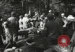 Image of Forward Aid station of 442nd Regimental Combat Team Belmont France, 1944, second 6 stock footage video 65675065597