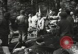 Image of Forward Aid station of 442nd Regimental Combat Team Belmont France, 1944, second 7 stock footage video 65675065597