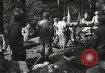 Image of Forward Aid station of 442nd Regimental Combat Team Belmont France, 1944, second 8 stock footage video 65675065597