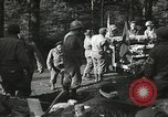 Image of Forward Aid station of 442nd Regimental Combat Team Belmont France, 1944, second 10 stock footage video 65675065597