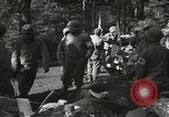 Image of Forward Aid station of 442nd Regimental Combat Team Belmont France, 1944, second 12 stock footage video 65675065597
