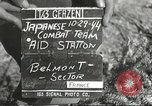 Image of Medical Aid Station of 2nd Battalion, 442nd Regimental Combat Team Belmont France, 1944, second 1 stock footage video 65675065598