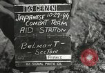 Image of Medical Aid Station of 2nd Battalion, 442nd Regimental Combat Team Belmont France, 1944, second 2 stock footage video 65675065598