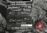Image of Medical Aid Station of 2nd Battalion, 442nd Regimental Combat Team Belmont France, 1944, second 4 stock footage video 65675065598