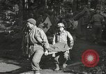 Image of Medical Aid Station of 2nd Battalion, 442nd Regimental Combat Team Belmont France, 1944, second 6 stock footage video 65675065598
