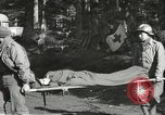 Image of Medical Aid Station of 2nd Battalion, 442nd Regimental Combat Team Belmont France, 1944, second 8 stock footage video 65675065598