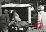 Image of Medical Aid Station of 2nd Battalion, 442nd Regimental Combat Team Belmont France, 1944, second 12 stock footage video 65675065598