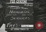 Image of Japanese-American combat team Fays France, 1944, second 4 stock footage video 65675065600
