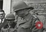 Image of memorial services Luxeuil France, 1944, second 8 stock footage video 65675065603