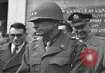 Image of memorial services Luxeuil France, 1944, second 10 stock footage video 65675065603