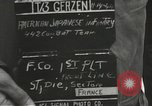 Image of American-Japanese infantry France, 1944, second 4 stock footage video 65675065608