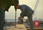 Image of construction site New York City USA, 1972, second 11 stock footage video 65675065609